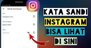 5 Cara Melihat Pasword Instagram Sendiri
